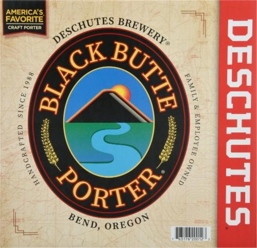 Deschutes Brewery Black Butte Porter Perspective: front