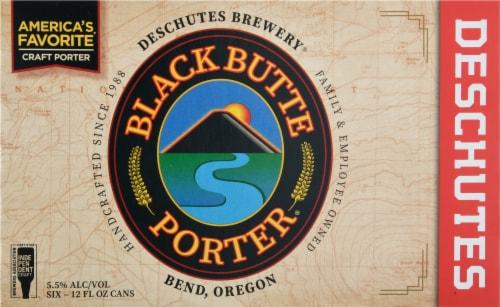 Deschutes Brewery Black Butte Porter Beer Perspective: front