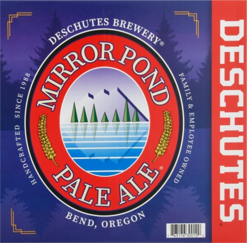 Deschutes Brewery Mirror Pond Pale Ale Perspective: front