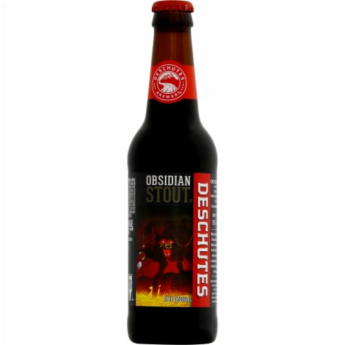 Deschutes Brewery Obsidian Stout Perspective: front