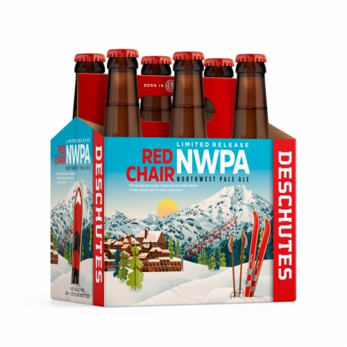 Deschutes Brewery Red Chair NWPA Pale Ale Perspective: front