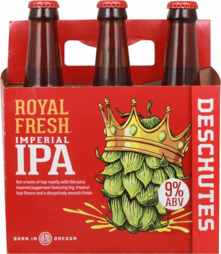 Deschutes Brewery Royal Fresh Imperial IPA Perspective: front