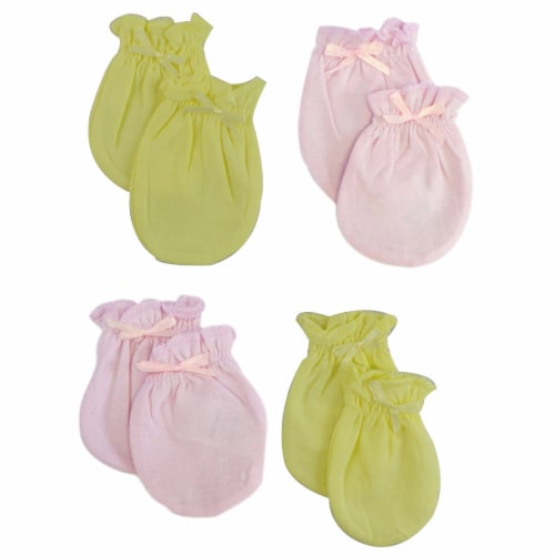 Bambini Infant Mittens (Pack of 4) Perspective: front