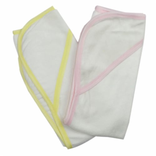 Bambini Infant Hooded Bath Towel (Pack of 2) Perspective: front
