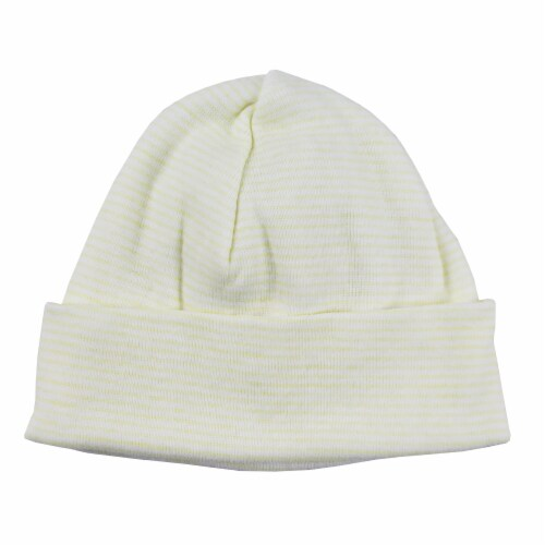 Stripped Baby Cap Perspective: front