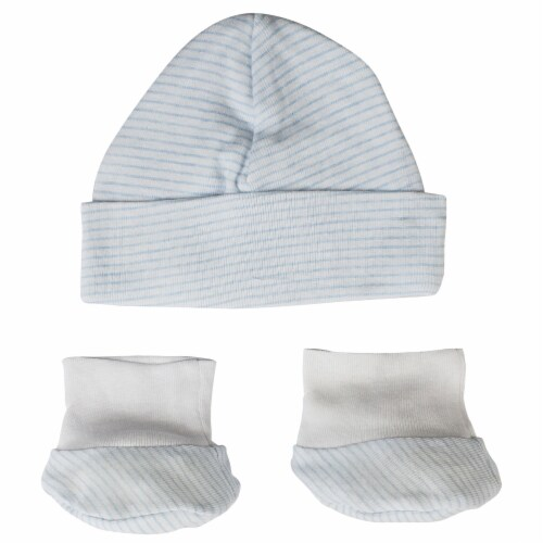 Baby Cap and Bootie Set Perspective: front