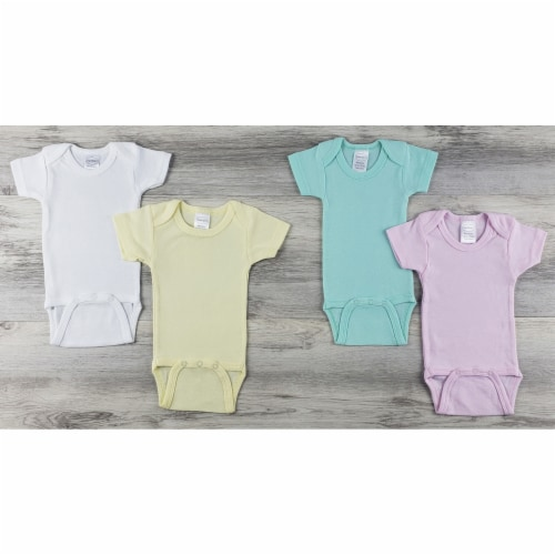 Bambini 4 Pc Layette Baby Clothes Set Perspective: front