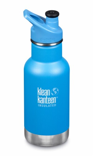 Klean Kanteen Kid Classic Insulated Bottle with Sport Cap - Pool Party Perspective: front