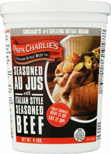 Papa Charlie's Italian Beef Perspective: front