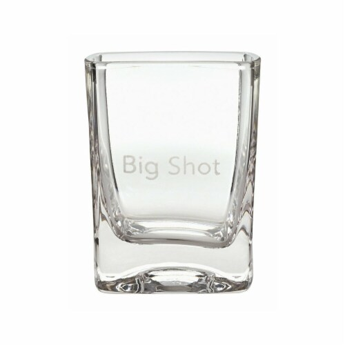 Hallmark Big Shot Drinking Glass, Assorted - Pack of 2 Perspective: front