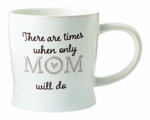 Hallmark Mom Ceramic Mug, Assorted - Pack of 4 Perspective: front