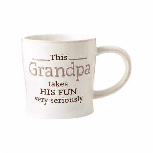 Hallmark Grandpa Ceramic Mug, Assorted - Pack of 4 Perspective: front