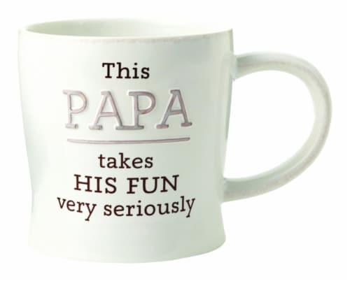 Hallmark Papa Ceramic Mug, Assorted - Pack of 4 Perspective: front