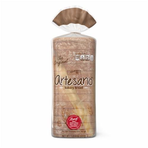 Alfaro's® Artesano™ White Bakery Bread Perspective: front