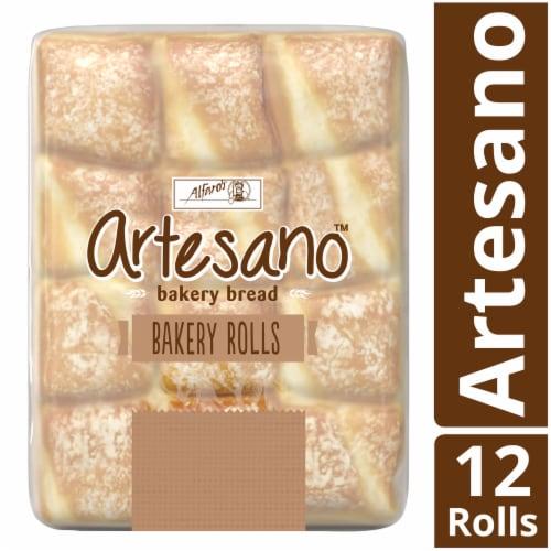 Alfaro's Artesano Bakery Rolls Perspective: front