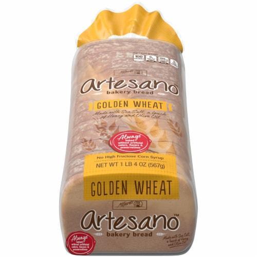 Alfaro's Artesano Golden Wheat Bread Perspective: front