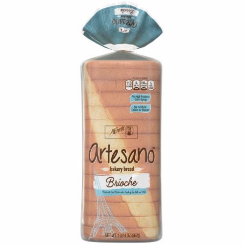 Alfaro's Artesano Brioche Bakery Bread Perspective: front