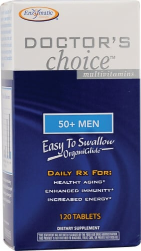 Enzymatic Therapy  Doctor's Choice™ 50 plus Men Perspective: front