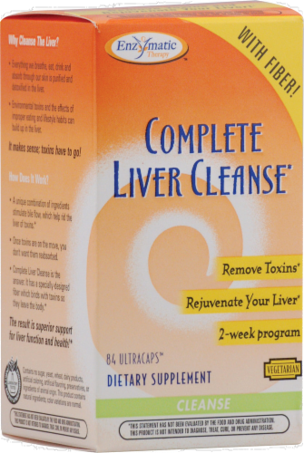 Enzymatic Therapy Complete Liver Cleanse Perspective: front