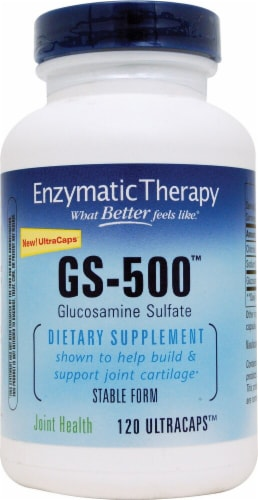 Enzymatic Therapy  GS-500™ Perspective: front