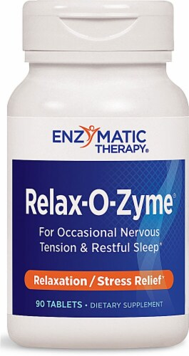 Enzymatic Therapy  Relax-O-Zyme® Perspective: front