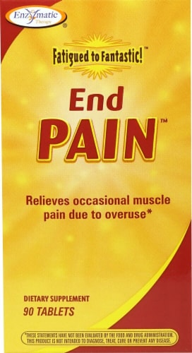 Enzymatic Therapy  Fatigued to Fantastic!™ End Pain™ Perspective: front