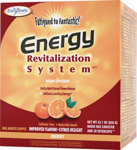 Enzymatic Therapy Energy Mix Perspective: front
