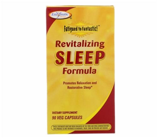 Enzymatic Therapy  Fatigued to Fantastic® Revitalizing Sleep Formula Perspective: front