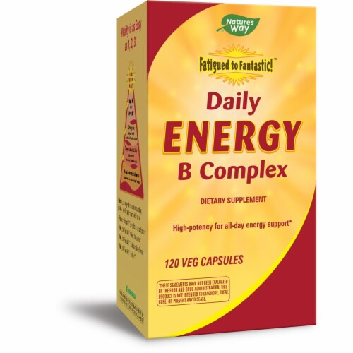 Enzymatic Therapy  Daily Energy B Complex Perspective: front