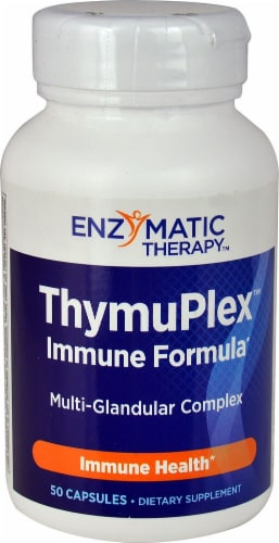 Enzymatic Therapy  Thymuplex™ Perspective: front