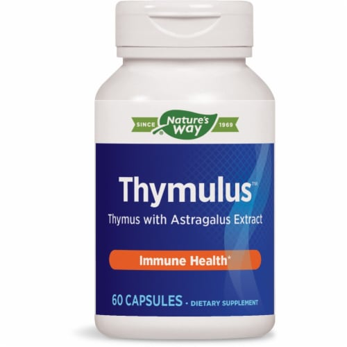 Enzymatic Therapy  Thymulus™ Perspective: front