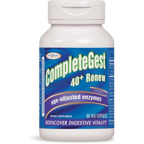 Enzymatic Therapy  CompleteGest® 40 plus Renew Perspective: front
