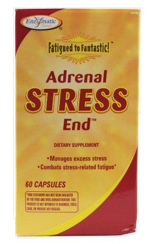 Enzymatic Therapy Stress End Capsules Perspective: front