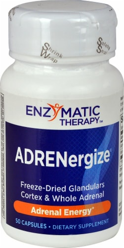 Enzymatic Therapy  ADRENergize® Perspective: front