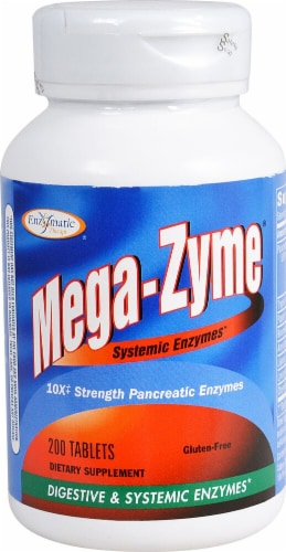 Enzymatic Therapy  Mega-Zyme® Perspective: front