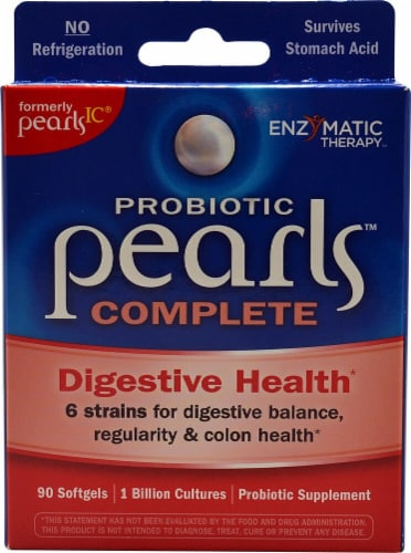 Enzymatic Therapy Probiotic Pearls Complete Perspective: front