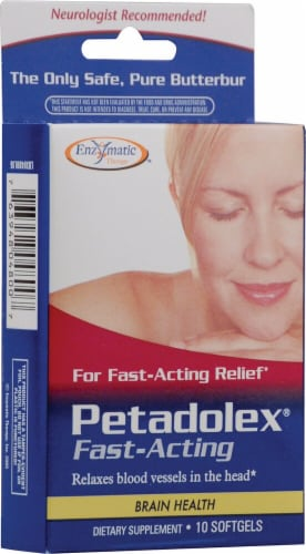 Enzymatic Therapy  Petadolex® Fast-Acting Perspective: front