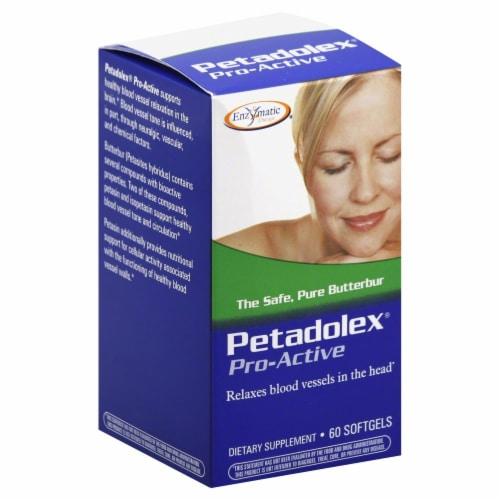 Enzymatic Petadolex Pro-Active Dietary Supplement Perspective: front