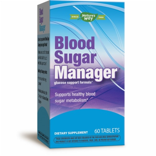 Enzymatic Therapy Blood Sugar Manager Tablets Perspective: front