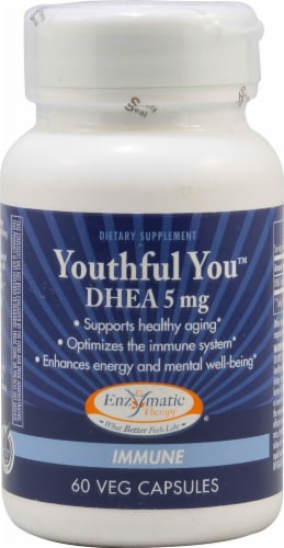 Enzymatic Therapy  Youthful You™ DHEA Perspective: front