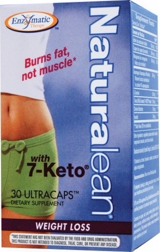 Enzymatic Therapy  Naturalean with 7-Keto® Perspective: front