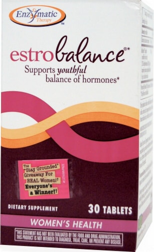 Enzymatic Therapy  EstroBalance® Perspective: front