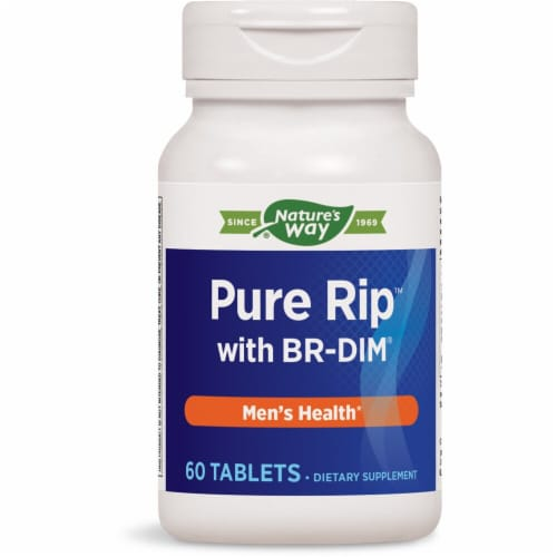 Enzymatic Therapy  Pure Rip™ with DIM® Perspective: front