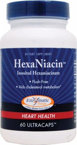 Enzymatic Therapy  HexaNiacin™ Perspective: front