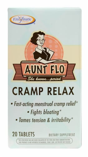 Enzymatic Therapy  Aunt Flo™ Cramp Relax Perspective: front