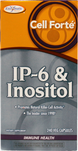 Enzymatic Therapy Cell Forte IP-6 & Inositol Immune Health Perspective: front