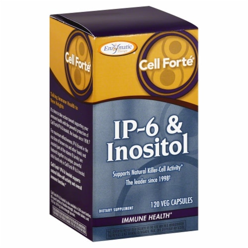 Enzymatic Cell Forte IP-6 & Inositol Immune Health Perspective: front
