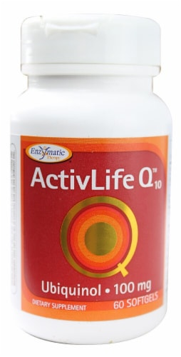 Enzymatic Therapy  ActivLife Q10™ Ubiquinol Perspective: front
