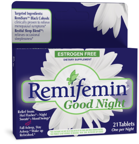 Enzymatic Therapy Remifemin Goodnight Tablets Perspective: front