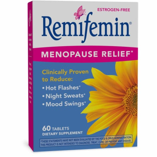 Enzymatic Therapy Remifemin Menopausal Herb Dietary Supplement Tablets Perspective: front